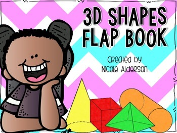 3 Dimensional Shapes Flap Book