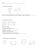 3 Dimensional Shapes Practice