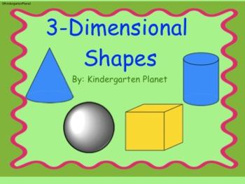 3-Dimensional Shapes - SMAR... by Kindergarten Planet | Teachers ...