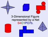 3-Dimensional Shapes and Nets Smartboard Math Lesson
