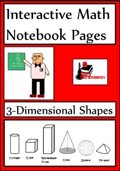 3-Dimensional Shapes for Interactive Math Notebooks