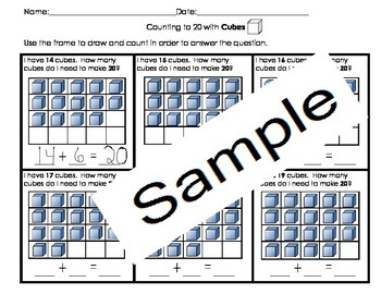 3 Dimensional Shapes with composing of numbers 10-20 Cscope CC