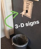 3 Dimensional Signs