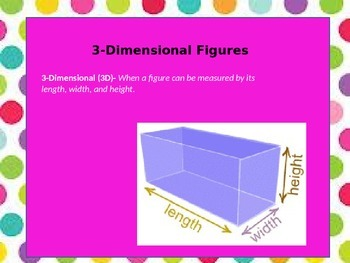 3-Dimensional Vocabulary Powerpoint