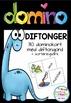 3 Domino-spill; diftongord, ord med kj-lyd og sj-lyd (BM & NN)