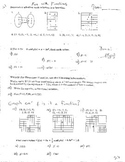 3 Double Sided Operations of Functions Composition Analyzing Graphs