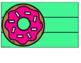 3 Drawer Sterilite Labels Editable Donut themed FREEBIE