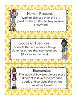 3 – E1.0.4 Natural, Capital, and Human Resources