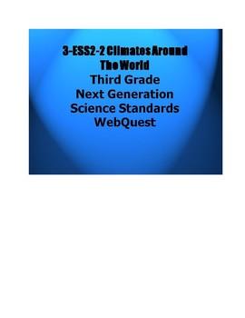 3-ESS2-2. Climates Around the World