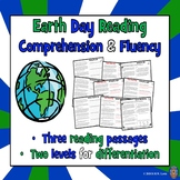 3 Earth Day Reading Comprehension Passages and Questions +