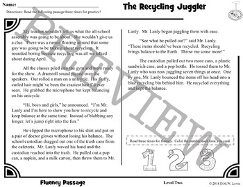 3 Earth Day Reading Comprehension: Earth Day Activities: Fun Reading Activity