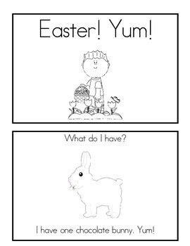 3 Easter Emergent Readers