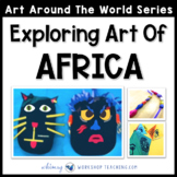 3 Easy Art Projects to Explore Africa (from Art Around the World)