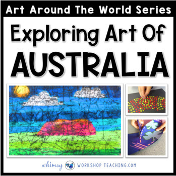 3 Easy Art Projects to Explore Australia (from Art Around the World)
