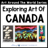 3 Easy Art Projects to Explore Canada (from Art Around the World)