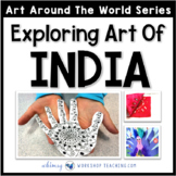 3 Easy Art Projects to Explore India (from Art Around the World)