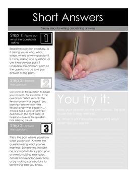 3 Easy Steps for Writing Astonishing Short Answer Responses