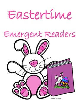3 Emergent Readers for Easter