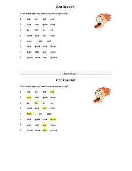3 English Pronunciation Worksheets