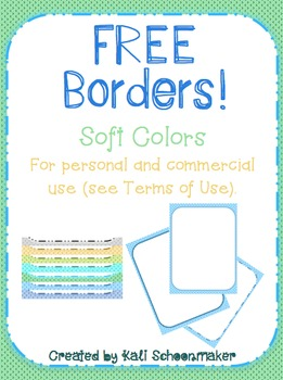 3 FREE Cute Borders Arrow Pattern Frames