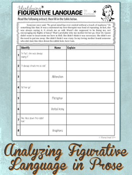 3 free figurative language worksheets by stacey lloyd tpt. Black Bedroom Furniture Sets. Home Design Ideas
