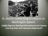 "3 FREE Learning Tasks for Dr. Martin Luther King Jr.'s ""I Have A Dream"" Speech!"