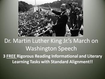 "3 FREE Learning Tasks for Dr. Martin Luther King Jr.'s ""I"