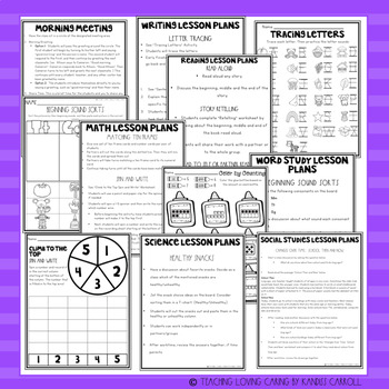 Sub Plans 3 FULL DAYS!!!! K-3 No-Prep Emergency Substitute Plans BUNDLE