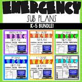 Emergency Sub Plans K-5 BUNDLE   Distance Learning   Googl
