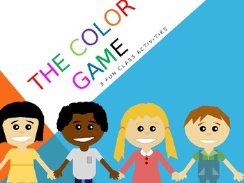 3 FUN COLOR GAMES ENGLISH kids kindergarten