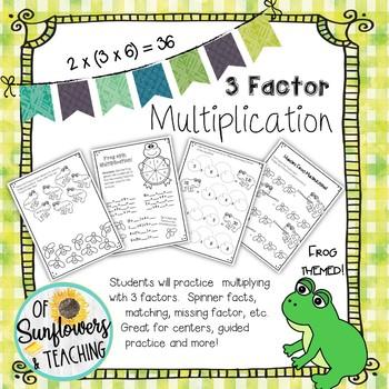 3 Factor Multiplying Frogs