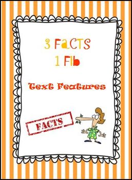3 Facts 1 Fib Text Features