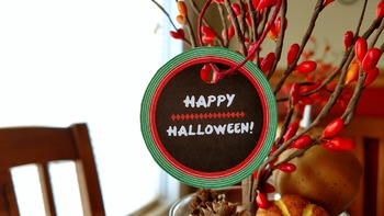 3 Fall & Halloween Printable Tags