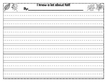 Fall Writing Ideas (3)
