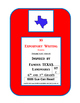 3 Famous Texas Landmarks Expository Writing Prompts STAAR 6th 7th SET C