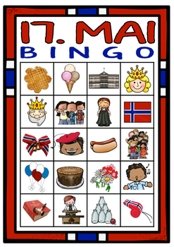 17. mai Bingo-spill