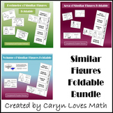 Similar Figures~Perimeter~Area~Volume~3 Foldable Bundle