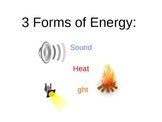 3 Forms of Energy PowerPoint