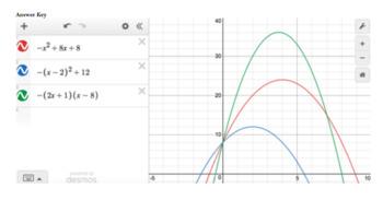 3 Forms of Quadratics: Group Project