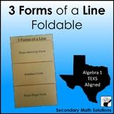 Lines Foldable (A3A, A3C)