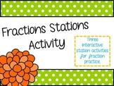 3 Fraction Card Sort Activities