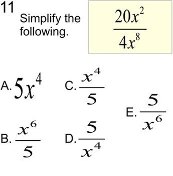 3 Free Socrative Math Quizzes Monomials, Venn & 2 Way Tabl