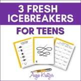3 Fresh Icebreakers for Teens (Middle/High/Secondary)