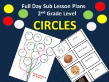 3 Full Days for 2nd Grade/Circles; Things That Fly; Writing Letters