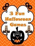 3 Fun Halloween Games