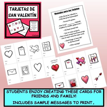 3 Fun Valentine's Day Activities for Spanish Class - Bundle