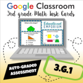 ⭐ AUTOMATICALLY GRADED ⭐ 3.G.1 Task Cards ⭐ Shape Categories and Attributes