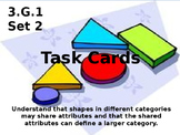 3.G.1  Set Two Geometry Task Cards Third Grade
