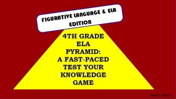 3 GAMES ~ELA Vocabulary~  Build Language Activity ELL Grammar, Fig. Lang. More