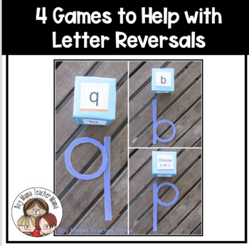 3 Games for Helping with Letter Reversals
